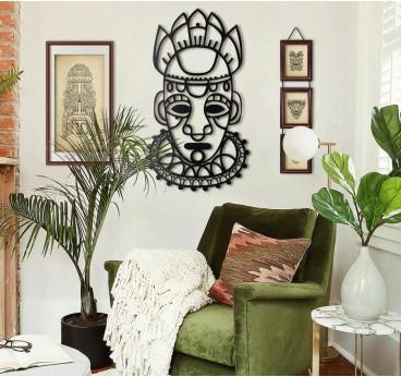Salvation Mask Metal Decoration