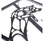 Fox Design Metal Decoration