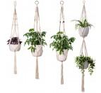 Multiple Plants Wall Macrame