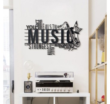 Décoration murale Monde Musicale