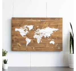 Decoration Murale Carte du Monde - ArtWall And Co