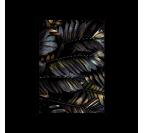 Poster mural plantes exotiques avec son cadre noir