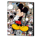 Mickey design canvas print for a unique interior decoration