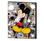 Tableau design de Mickey avec des couleurs originales pour un intérieur tendance et pop art