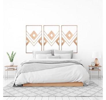 Décoration murale bois ethnique Artwall and Co pour créer un mur au style africain et boho dans votre intérieur