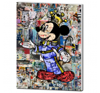 King mickey modern canvas print deco