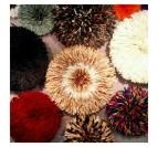 Set de juju hat bicolore pour une déco murale bicolore