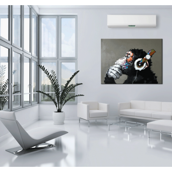 Monkey Music Pop Art Painting
