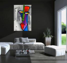 Tableau Peinture Abstraite Moderne Et Contemporaine Artwall And Co