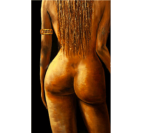 Tableau Ethnique Naked Woman