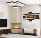 Sun Levitation Abstract Painting