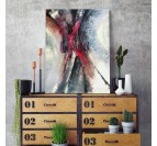 Abstract wall canvas for a modern living room decoration