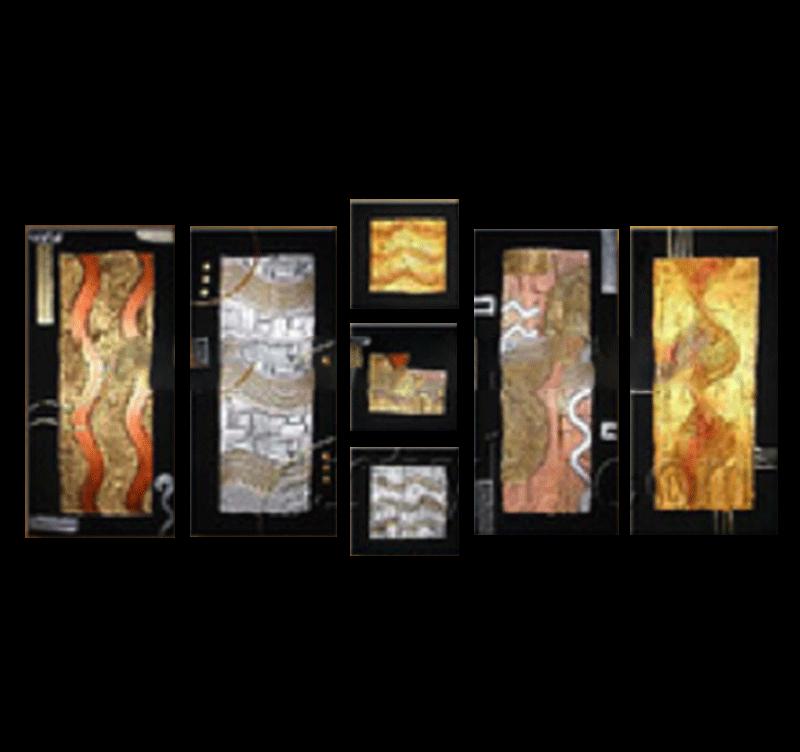 Five elements tableau peinture for Tableau elements