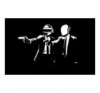 Daft Punk Guns Tableau Tendance