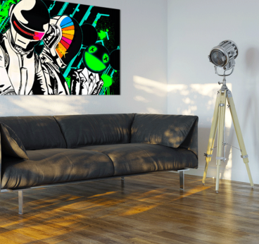 Daft Punk Deadmau5 Tableau design