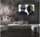 Gold And Silver Daft Punk Tableau Dj
