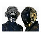 Gold And Silver Daft Punk Tableau Dj