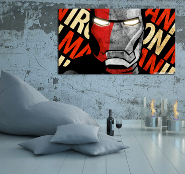 Tableau Personnage Iron Man