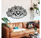 Ajna metal wall decoration for a design and boho touch in your living room