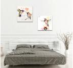 Flying Birds Color Tableau Moderne