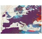 Détails de notre tableau imprimé du planisphère