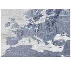 Détails de notre tableau carte du monde effet béton pour un intérieur tendance