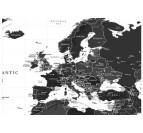 Détail des pays de notre tableau carte du monde contemporain