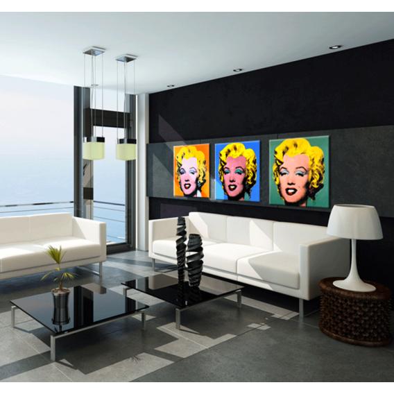 Marilyn Monroe Pop Art Triptych