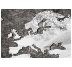 Détails de notre tableau carte du monde sombre