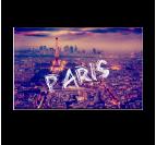 Paris By Night Tableau Ville
