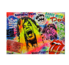 The Rolling Stones Tableau Pop Art