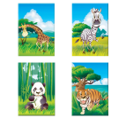 The Jungle Family Tableau Enfant