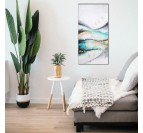 Dune oil painting on canvas from our artist in a modern wall decoration