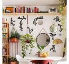 Décoration murale salle à manger avec nos singes modernes en métal