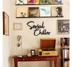 Serial chiller metal wall decoration for bedroom