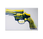 Yellow Revolver Tableau Pop Art