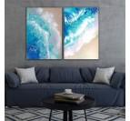 Modern Ocean Painting  - 1