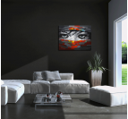 Beautiful Eyes abstract painting