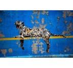 Tableau street art Léopard de Banksy pour votre décoration murale