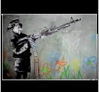 Happy Gun Kid Tableau Moderne