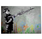 Happy Gun Kid Tableau Moderne