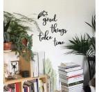 Décoration murale métal de phrase et citation pour créer une ambiance cosy dans votre intérieur