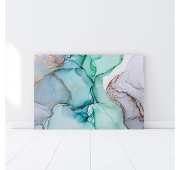 Abstract wall art in marble paper color for an original touch in your wall decoration