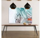 Abstract wall artin apatite color for a contemporary style in your wall decoration