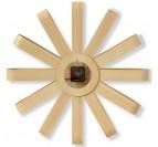 Arrière et mécanisme de notre grand horloge murale en bois