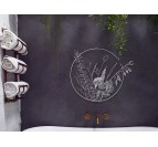 Eco friendly wall decoration flora for your interior with a with touch
