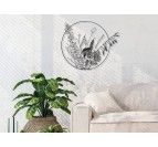 Flora wall decoration with an eco friendly touch for your home decor