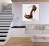 Leopard Woman Shoes Tableau Abstrait