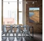 Photo d'art de paysage par notre artiste sur tableau aluminium pour votre décoration murale