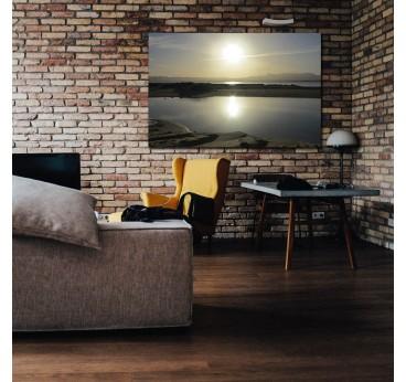 Photo d'art zen de notre artiste avec un soleil resplendissant pour votre décoration murale